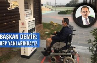 Büyükşehir Engelli Bireylerin Akülü Araçlarını Ücretsiz Şarj Edecekleri İstasyonlar Kurdu