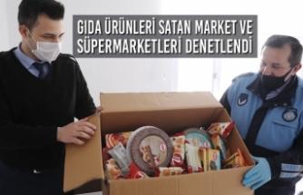 Gıda Ürünleri Satan Market ve Süpermarketleri Denetlendi