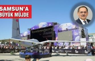 Havacılık, Uzay ve Teknoloji Festivali TEKNOFEST 2022'da Samsun'da