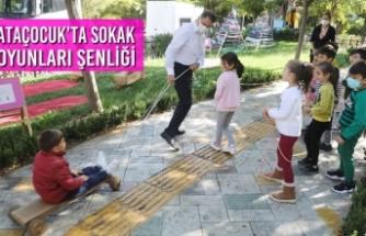 AtaÇocuk'ta Sokak Oyunları Şenliği