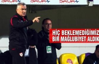 """Mehmet Altıparmak; """"Hiç Beklemediğimiz Bir Mağlubiyet Aldık"""""""