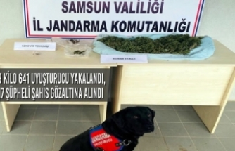 Samsun'un 5 İlçesinde 9 Kilo 641 Uyuşturucu Yakalandı, 17 Gözaltı