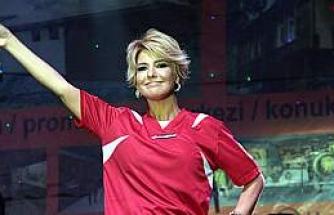 Samsun'da Gülben Ergen Rüzgarı Esti