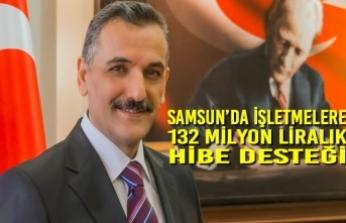 Samsun'da İşletmelere 132 Milyon Liralık Hibe Desteği