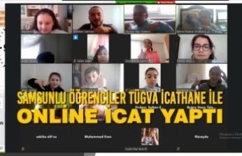 Samsunlu Öğrenciler TÜGVA İcathane İle Online İcat Yaptı