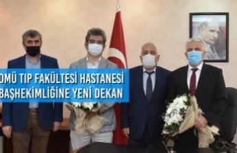 OMÜ Tıp Fakültesi Hastanesi Başhekimlik Görevini Prof. Dr. Fatih Özkan Devraldı