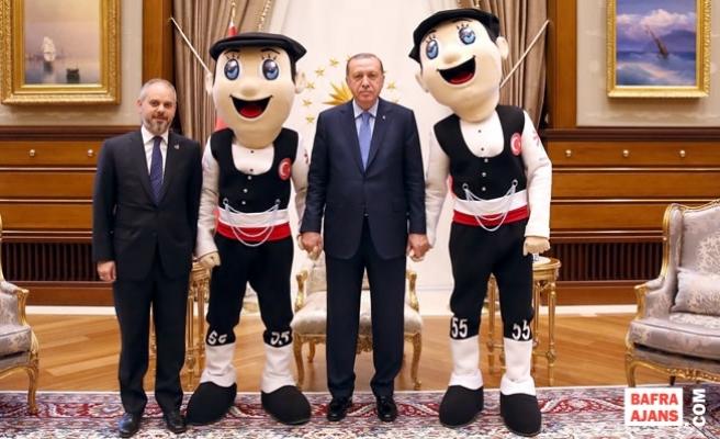 Bakan Kılıç'tan Cumhurbaşkanı Erdoğan ve Başbakan Yıldırım'a Deaflympics Daveti