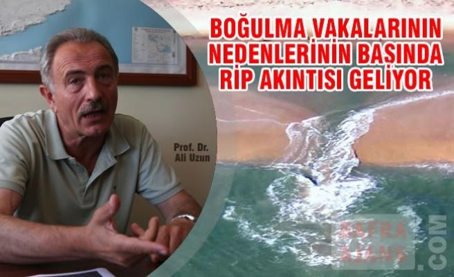 """Karadeniz'de """"Rip Akıntısı"""" Can Alıyor"""