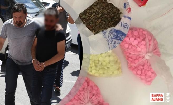 Uyuşturucu Operasyonunda Gözaltına Alınan 3 Kişi Tutuklandı