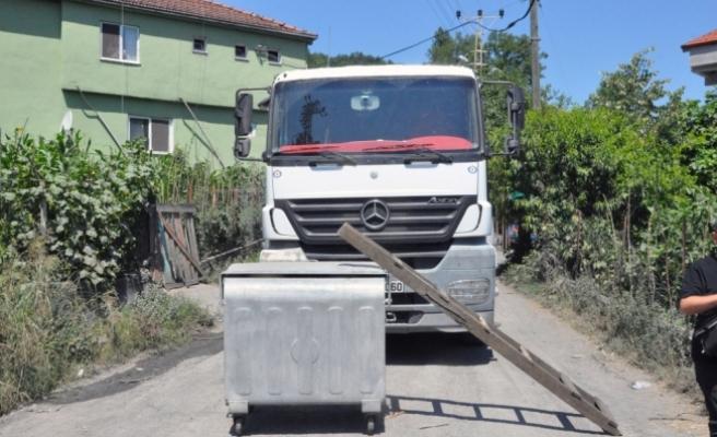 Zonguldak'ta yol kapatma eylemi