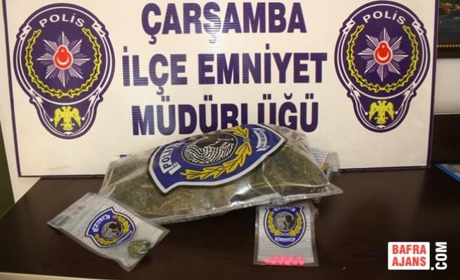 Çarşamba'da Uyuşturucu Operasyonu; 4 Gözaltı