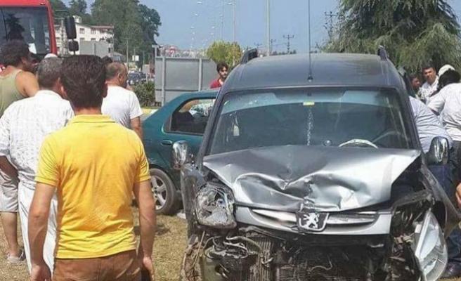 Ordu'da trafik kazası: 1 ölü, 5 yaralı