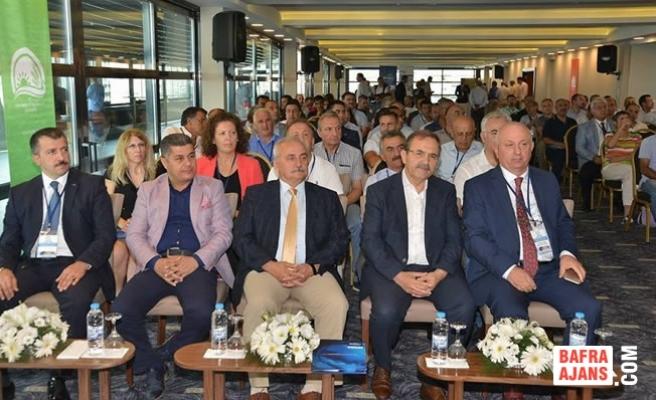 Samsun'da 'Karadeniz'de Büyük Alabalık Yetiştiriciliği' Toplantısı Yapıldı