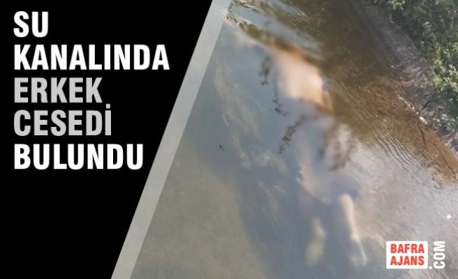 Şeyhören'de Su Kanalı İçinde Bir Erkek Cesedi Bulundu