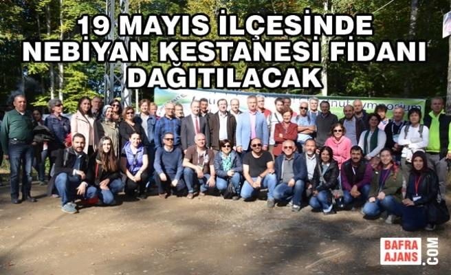 """Topaloğlu, """"Nebiyan Kestanesi Türkiye'nin Markası Olacak"""""""