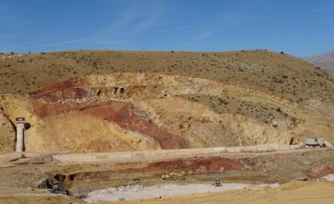 Bayburt Aydıncık Barajı'nda yüzde 36 fiziki gerçekleşme