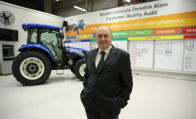 İhraç edilen traktörlerin yüzde 87'si TürkTraktör'den