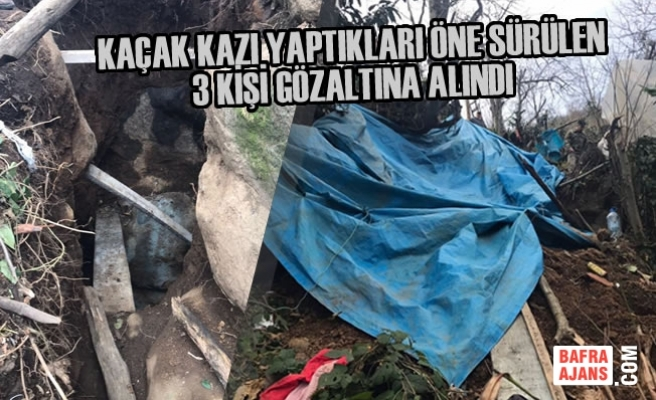Samsun'da Kaçak Kazı Yapıldığı İddiası