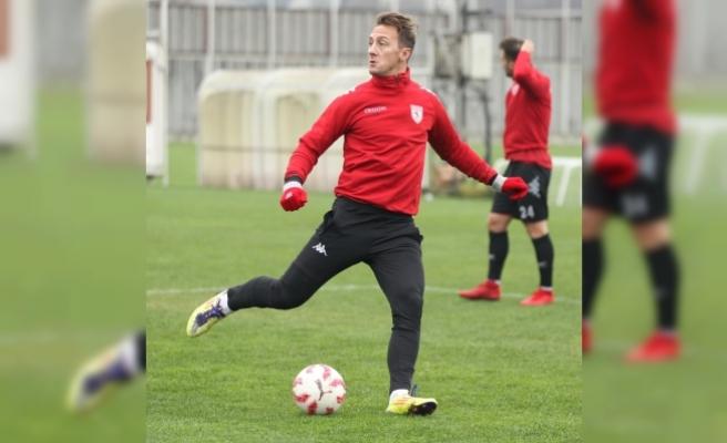 Samsunspor'da futbolcular destekten memnun