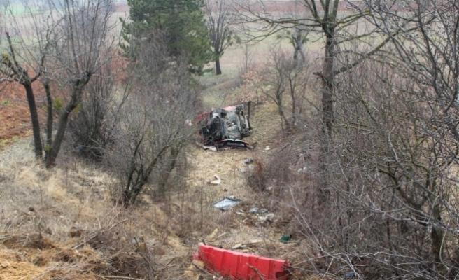 Kastamonu'da otomobil devrildi: 6 yaralı