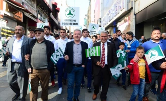 Giresunspor'un 51. kuruluş yıl dönümü kutlandı