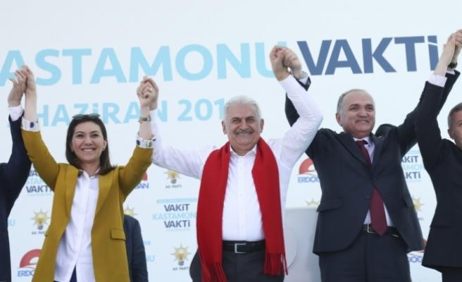 AK Parti'nin Kastamonu mitingi