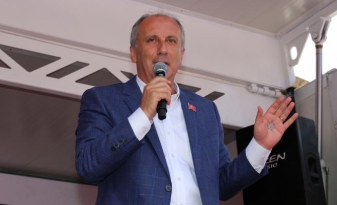 CHP'nin cumhurbaşkanı adayı Muharrem İnce Ordu'da