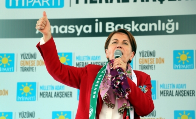 İYİ Parti'nin Amasya mitingi