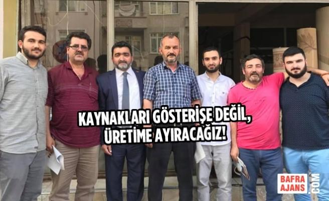 Mustafa Öcal, Kavakpınar Mahallesi Esnaflarını Ziyaret Etti
