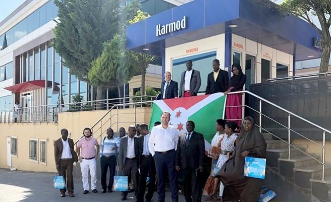 Burundi iş heyeti Karmod'u ziyaret etti