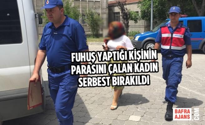 Fuhuş Yaptığı Kişinin Parasını Çalan Kadın Serbest Bırakıldı