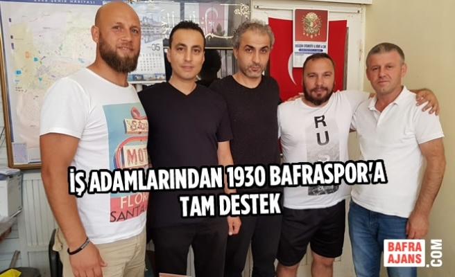 İş Adamlarından 1930 Bafraspor'a Tam Destek