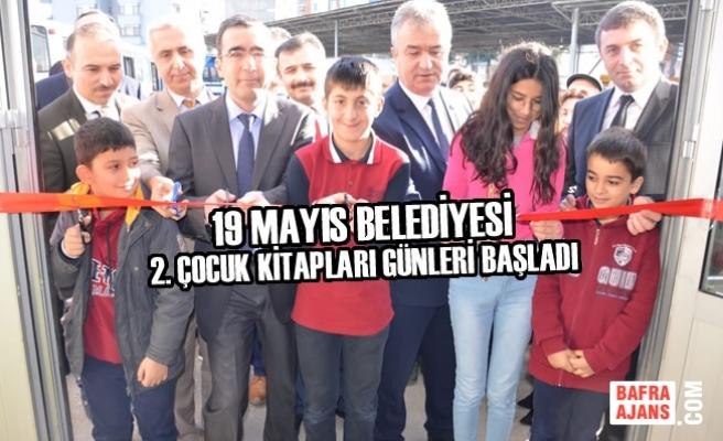 19 Mayıs Belediyesi 2. Çocuk Kitapları Günleri Başladı