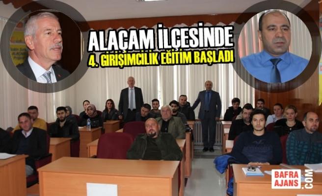Alaçam'da 4. Girişimcilik Eğitim Başladı