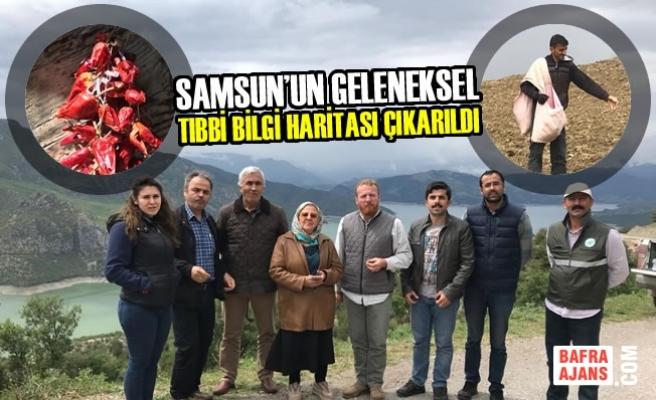 Samsun'un Geleneksel Tıbbi Bilgi Haritası Çıkarıldı