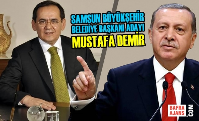 Samsun Büyükşehir Belediye Başkanı Adayı Mustafa Demir