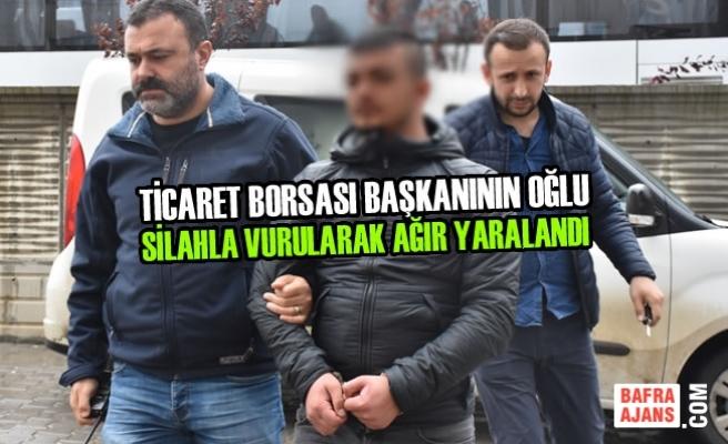 Samsun'da Silahlı Saldırı; 1 Ağır Yaralı