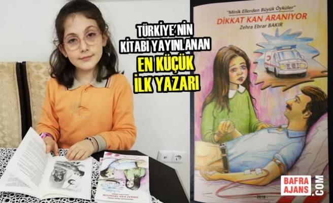Türkiye'nin Kitabı Yayınlanan En Küçük İlk Yazarı