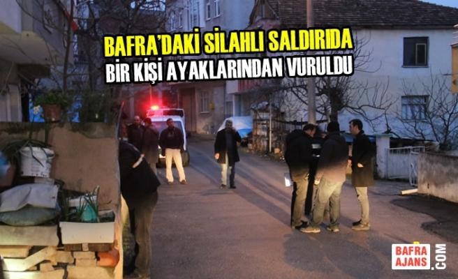 Bafra'da Silahla Yaralama; 1 Yaralı