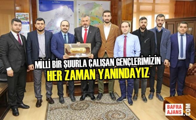 Bafra TÜGVA'dan Başkan Kılıç'a Ziyaret