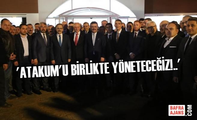 Başkan Zihni Şahin, MHP ve AK Parti İlçe Teşkilatlarıyla Buluştu
