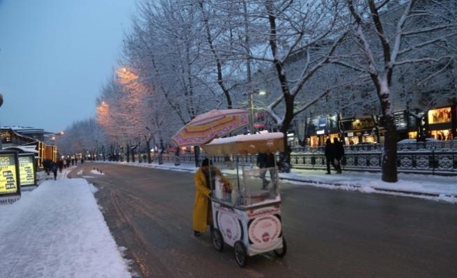 Kastamonu'da eğitime kar tatili