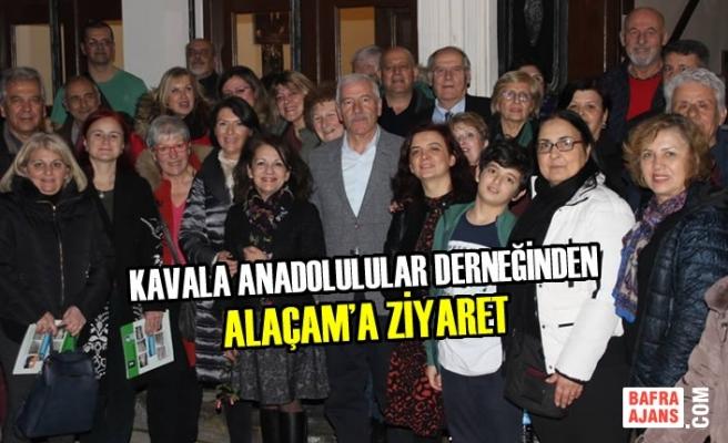 Kavala Anadolulular Derneğinden Alaçam'a Ziyaret