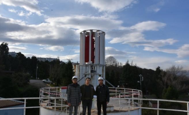 KTÜ'de rüzgar enerjisiyle elektrik üretilecek