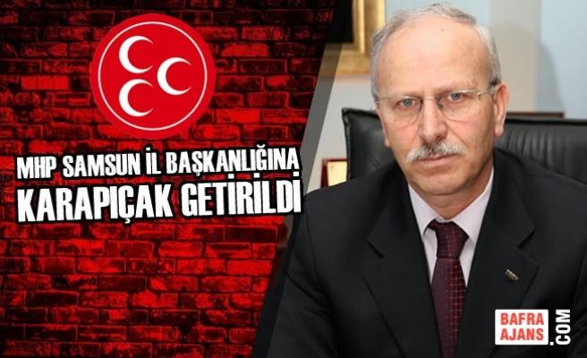 MHP'nin Yeni İl Başkanı Abdullah Karapıçak Oldu