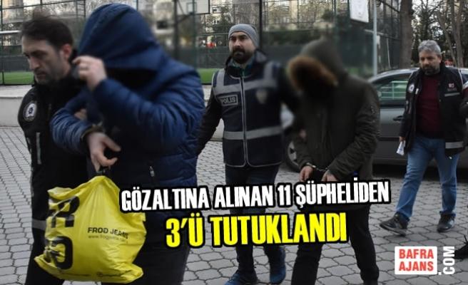 Samsun'daki Silah Kaçakçılarına Yönelik Operasyon