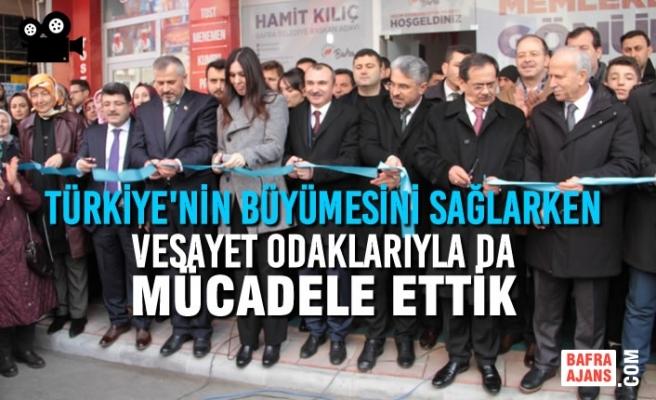 AK Parti Bafra SKM'ye Görkemli Açılış