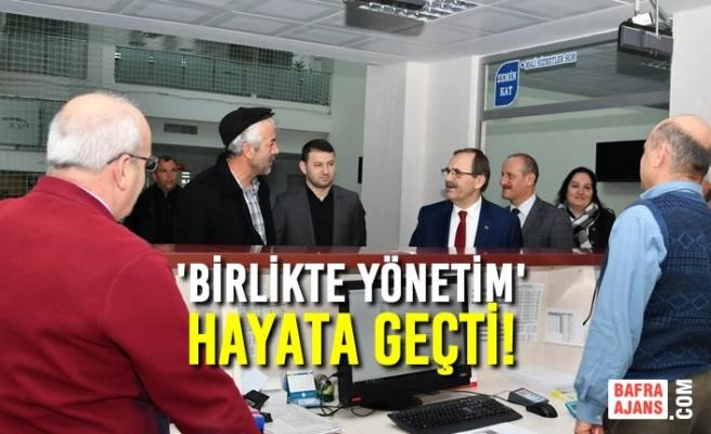 Başkan Zihni Şahin'den 'İnteraktif' Uygulama