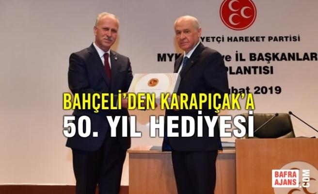 Karapıçak MYK, MDK Üyeleri ve İl Başkanları Toplantısına Katıldı