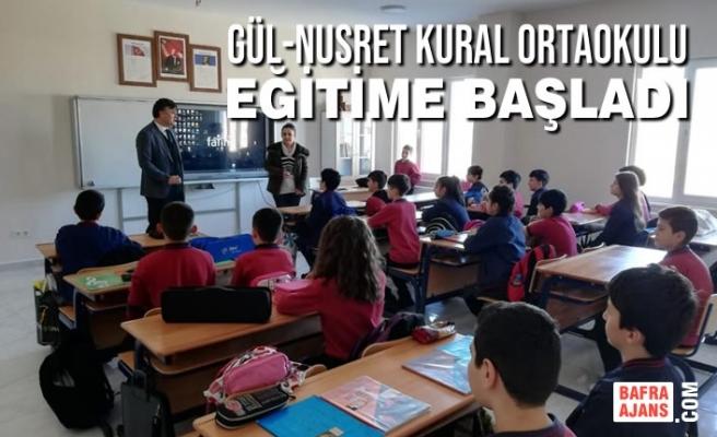 Bafra'da Tüm Okullarda Tam Gün Eğitim